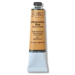 Rublev Colours Ultramarine Blue (Greenish Shade) 50 ml - Color: Blue