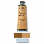Rublev Colours Orange Ocher 50 ml - Color: Yellow
