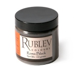 Rublev Colours Slate Grey Pigment 100 g - Color: Grey