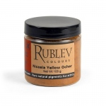Rublev Colours Hrazdan Yellow Ocher 100 g - Color: Yellow
