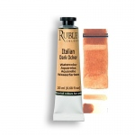 Rublev Colours Italian Dark Ocher 15ml - Color: Orange
