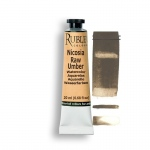 Rublev Colours Nicosia Raw Umber 15ml - Color: Brown