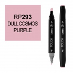 ShinHan Art TOUCH Twin Dull Cosmos Purple Marker: Black, Purple, Double-Ended, Alcohol-Based, Refillable, Dual, (model 1110293-RP293), price per each