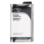 Winsor & Newton™ Distilled Turpentine 1 Liter: 1 ltr, Solvents
