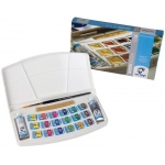 Royal Talens van Gogh® Watercolor 18-Color Set; Color: Multi; Format: Pan, Tube; Size: 10 ml; Type: Watercolor; (model 20808618), price per each