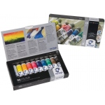 Royal Talens van Gogh® Oil 10-Color Set: Multi, Tube, 20 ml, Oil, (model 2820410), price per set
