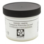 Daniel Smith Watercolor Ground 4oz Transparent: Clear, Jar, 4 oz, Watercolor, (model 284055011), price per each
