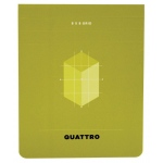 "Hand Book Journal Co.™ Quattro™ Grid Journal 4.5"" x 3.5"": Gridded, 80 Sheets, 4 1/2"" x 5 1/2"", 24 lb"