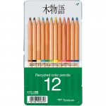 Tombow® Recycled Color Pencil 12-Color Set: 12 Pencils, Colored, (model 51625), price per set