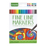 Crayola® Aged Up Fine Line Markers 12-Color Classic Colors: Multi, Fine Nib, (model 58-7713), price per set