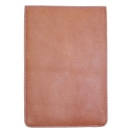 Hand Book Journal Co.™ Quattro™ Leather Pad Holder Saddle Brown: Black/Gray, Leather