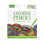 Crayola® Aged Up Colored Pencils 50-Set: Multi, 50 Pencils, Colored, (model 68-0050), price per each