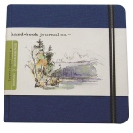 "Hand Book Journal Co.™ Travelogue Series Artist Journal 5.5"" x 5.5"" The Square Ultramarine Blue: Blue, 128 Sheets, 5 1/2"" x 5 1/2"", Heavyweight, (model 721332), price per each"