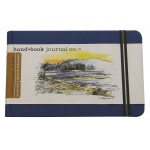 "Hand Book Journal Co.™ Travelogue Series Artist Journal 5.5"" x 8.25"" Large Landscape Ultramarine Blue: Blue, 128 Sheets, 5 1/2"" x 8 1/4"", Heavyweight, (model 721422), price per each"