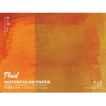 "Hand Book Journal Co.™ Fluid™ Easy-Block™ Cold Press Watercolor Paper 6"" x 8"": 15 Sheets, 6"" x 8"", Cold Press, 140 lb"