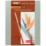 Bruynzeel® Design® Colored Pencil 12-Set: Multi, 3.8mm, Drawing, (model 8805H12), price per set
