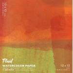 "Hand Book Journal Co.™ Fluid™ Easy-Block™ Cold Press Watercolor Paper 12"" x 12"": 15 Sheets, 12"" x 12"", Cold Press, 140 lb"
