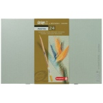 Bruynzeel® Design® 24-Color Pastel Pencil Set; Type: Drawing; (model 8840H24), price per set