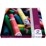 Royal Talens van Gogh® Oil Pastel 24-Color Set: Multi, Stick, 24 Sticks, Oil, (model 95860024), price per set