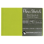 "Hand Book Journal Co.™ Flexi-Sketch™ Soft-Cover Sketchbook 4"" x 6"" Landscape Fern: Green, 240 Sheets, 4"" x 6"", 60 lb"