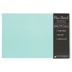 "Hand Book Journal Co.™ Flexi-Sketch™ Soft-Cover Sketchbook 8"" x 12"" Landscape Pool: Blue, 240 Sheets, 8 1/2"" x 12"", 60 lb"