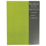 "Hand Book Journal Co.™ Flexi-Sketch™ Soft-Cover Sketchbook 12"" x 9"" Portrait Fern: Green, 240 Sheets, 9"" x 12"", 60 lb, (model 969180), price per 240 Sheets pad"