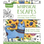 "Crayola® Aged Up Coloring Book Whimsical Escapes: Book, 8 1/2"" x 10"", (model 99-2021), price per each"