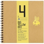 "Bee Paper® Big Yellow Bee Co-Mo Draw Paper 9"" x 9"": Wire Bound, White/Ivory, Pad, 50 Sheets, 9"" x 9"", Drawing, 80 lb, (model B205CB50-909), price per 50 Sheets pad"