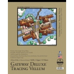 "Bee Paper® Gateway Deluxe Tracing Vellum Pad 11"" x 14"" 68lb: Tape Bound, Pad, 25 Sheets, 11"" x 14"", Tracing, 68 lb"