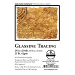 "Bee Paper® Glassine Tracing Roll 24"" x 20yd: Roll, 24"" x 20 yd, Tracing, 25 lb, (model B522R-2024), price per roll"