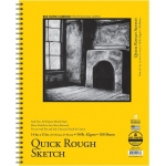 "Bee Paper® Quick Rough Sketch Pad 14"" x 11"": Wire Bound, Pad, 100 Sheets, 11"" x 14"", Sketching, 50 lb"