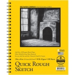 "Bee Paper® Quick Rough Sketch Pad 10"" x 8"": Wire Bound, Pad, 100 Sheets, 8"" x 10"", Sketching, 50 lb"