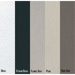 "Canson® Mi-Teintes® 19"" x 25"" Sheet 10 Pack Grey: Fold Over, Black/Gray, Multi, Pad, 10 Sheets, 19"" x 25"", (model C100511340), price per 10 Sheets"