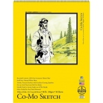"Bee Paper® Co-Mo Sketch Pad 18"" x 24"": Wire Bound, White/Ivory, Pad, 30 Sheets, 18"" x 24"", Drawing, 80 lb"