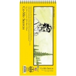 "Bee Paper® Co-Mo Sketch Pad 6"" x 12"": Wire Bound, White/Ivory, Pad, 30 Sheets, 6"" x 12"", Drawing, 80 lb, (model B820S30-612), price per 30 Sheets pad"