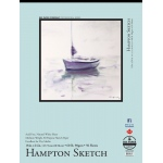 "Bee Paper® Hampton Sketch Pad 18"" x 24"": Tape Bound, White/Ivory, Pad, 50 Sheets, 18"" x 24"", Sketching, 60 lb"