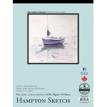 "Bee Paper® Hampton Sketch Pad 9"" x 12"": Tape Bound, White/Ivory, Pad, 50 Sheets, 9"" x 12"", Sketching, 60 lb, (model B825T50-912), price per 50 Sheets pad"