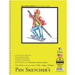 "Bee Paper® Pen Sketcher's Pad 11"" x 8.5"": Wire Bound, White/Ivory, Pad, 50 Sheets, 8.5"" x 11"", Sketching, 70 lb, (model B925S50-8511), price per 50 Sheets pad"