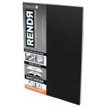"Crescent® RENDR® All Media No Show Thru Paper Soft Cover Sketchbook 8 1/2"" x 11"": Glue Bound, White/Ivory, Book, 8 1/2"" x 11"", Smooth, Drawing, Marker, 110 lb, (model C12-00020), price per each"