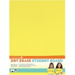 "Crescent® Yellow Dry Erase Board: Yellow, Board, 9"" x 12"", Smooth, Dry Erase, (model C12-403), price per each"