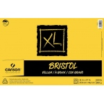 "Canson® XL® 11"" x 17"" Vellum Bristol Pad (Fold Over): Fold Over, White/Ivory, Pad, 11"" x 17"", Smooth, Bristol, 100 lb, (model C400061850), price per pad"