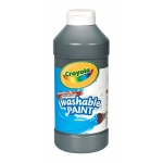 Crayola Washable Paint Black 16oz