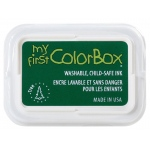 My First ColorBox® Washable Full Size Ink Pad Tree: Green, Pad, Dye-Based, Full Size Rectangle