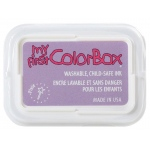 My First ColorBox® Washable Full Size Ink Pad Pixie: Purple, Pad, Dye-Based, Full Size Rectangle, (model CS68055), price per each