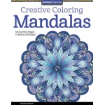 "Design Originals Mandalas Creative Coloring Books for Adults: Book, 8 1/2"" x 11"", (model DO5508), price per each"
