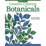 "Design Originals Botanicals Creative Coloring Books for Adults: Book, 8 1/2"" x 11"", (model DO5539), price per each"