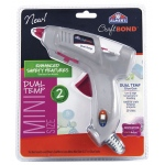 Elmer's® CraftBond® Mini Dual Temp Hot Glue Gun, (model E6049), price per each