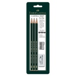 Faber-Castell® Castell 9000 Jumbo Graphite Art Set: Drawing, (model FC800029), price per set