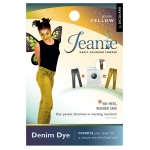 Jacquard Jeanie Yellow Denim Dye: Yellow, Packet, Denim Dye, (model JJD001), price per each