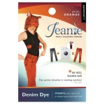 Jacquard Jeanie Orange Denim Dye: Orange, Packet, Denim Dye, (model JJD002), price per each